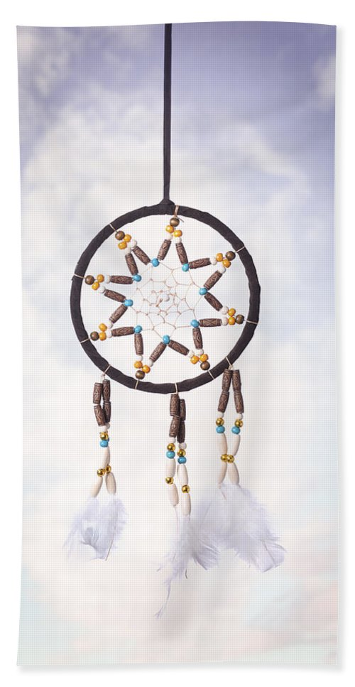 Dream Hand Towel featuring the photograph Dream Catcher by Amanda Elwell