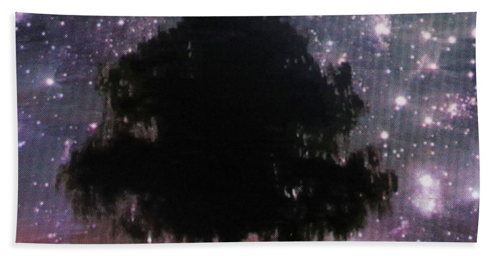 Stars Bath Sheet featuring the photograph Dreaming Tree by Aaron Martens