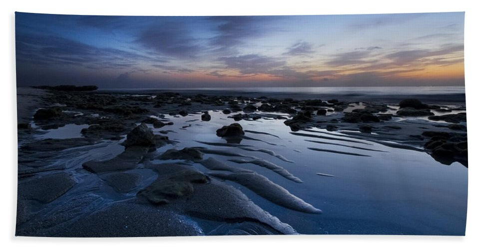 Clouds Bath Sheet featuring the photograph Dreams At Dawn by Debra and Dave Vanderlaan