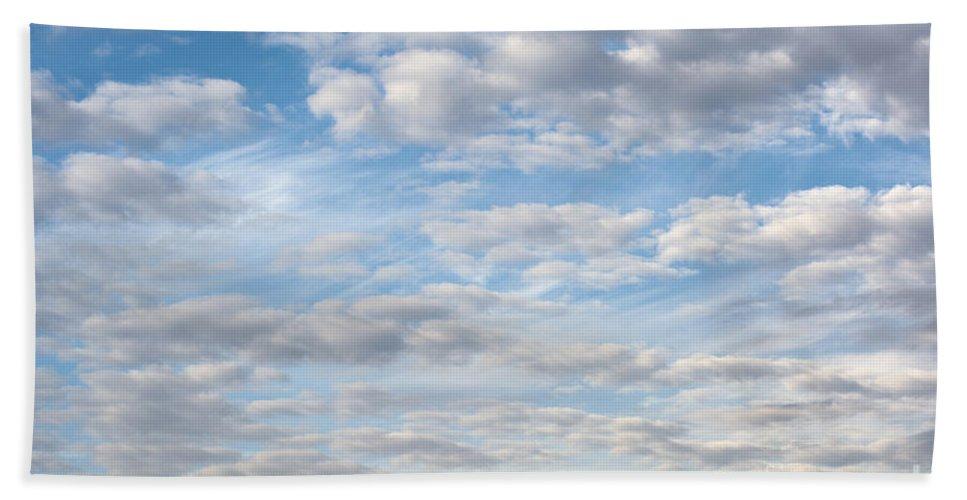 Sky Hand Towel featuring the photograph Dreamy Sky by Grigorios Moraitis