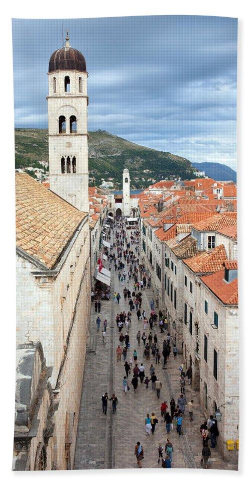 Ancient Hand Towel featuring the photograph Dubrovnik by Artur Bogacki