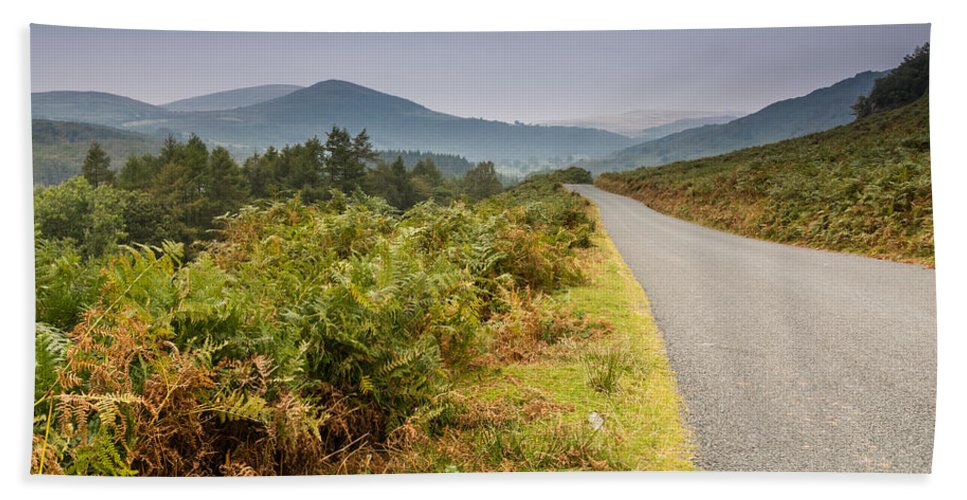British Bath Sheet featuring the photograph Duddon Valley Road by David Head