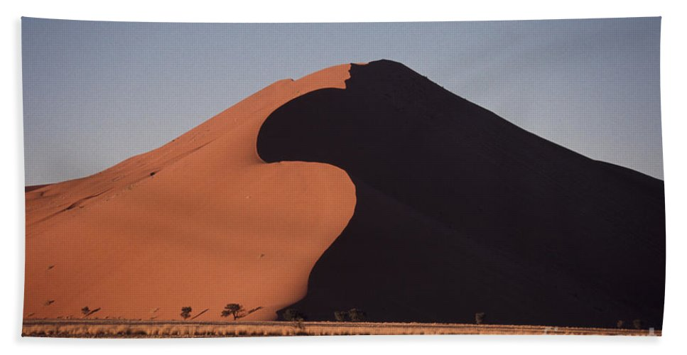 Sand Dune Hand Towel featuring the photograph Dune 45 Morning by Liz Leyden