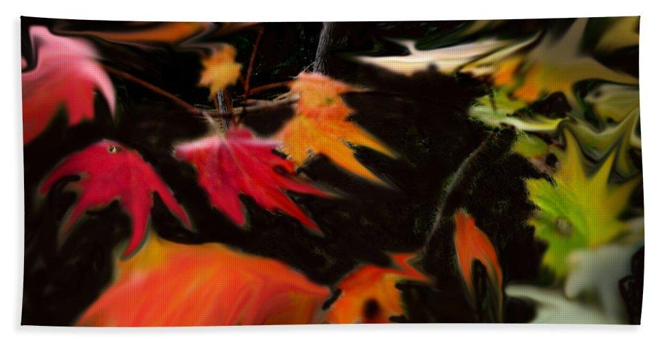 Fall Bath Sheet featuring the photograph Early Fall by Ian MacDonald