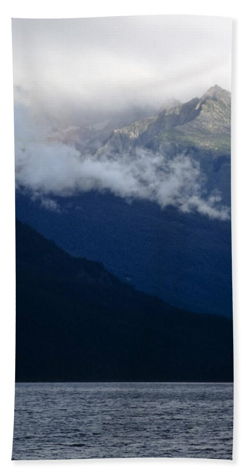 Americas Bath Sheet featuring the photograph Early Morning Fog by Roderick Bley