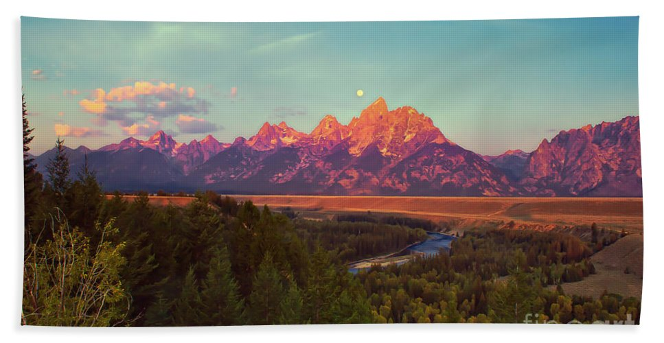 Moon Bath Sheet featuring the photograph Early Morning Light by Robert Bales