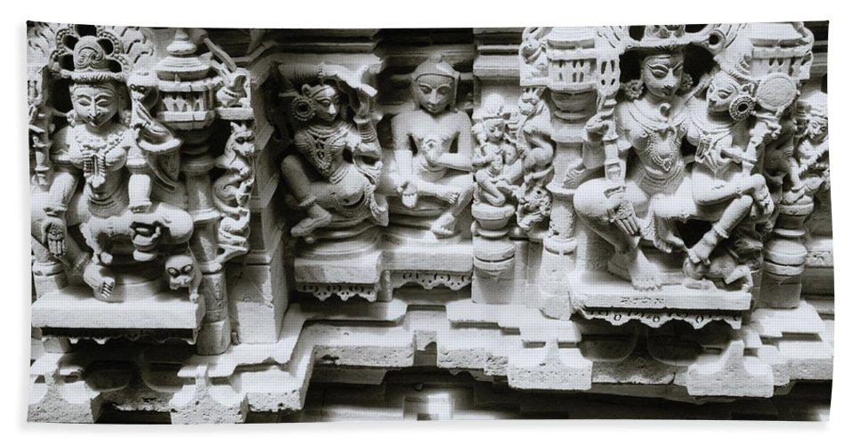 India Bath Sheet featuring the photograph Eastern Beauty by Shaun Higson