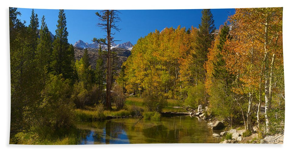 Eastern Sierras Hand Towel featuring the photograph Eastern Sierras 16 by Richard J Cassato