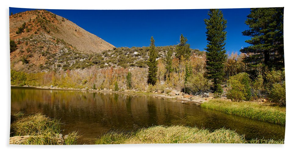 Eastern Sierras Hand Towel featuring the photograph Eastern Sierras 18 by Richard J Cassato