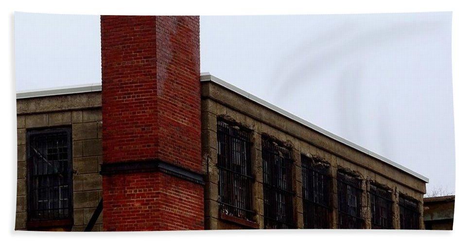 Eastern State Penitentiary Bath Sheet featuring the photograph Eastern State Penitentiary 13 by Heather Jane