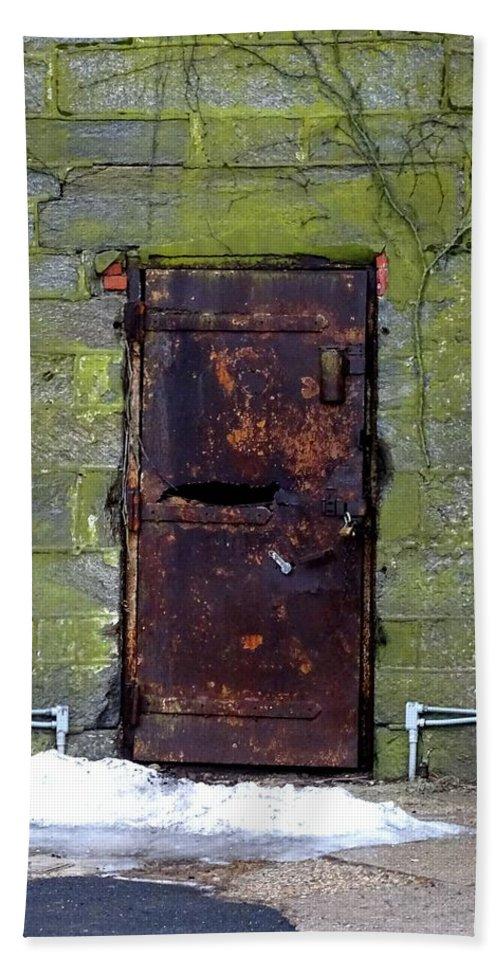 Eastern State Penitentiary Bath Sheet featuring the photograph Eastern State Penitentiary 4 by Heather Jane