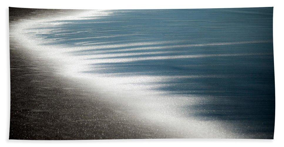 Beach Bath Sheet featuring the photograph Ebb And Flow by Dave Bowman
