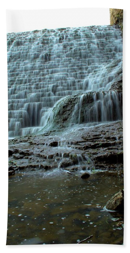 Dam Bath Sheet featuring the photograph Eighty Years by Bonfire Photography
