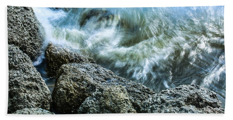 Jetty Bath Sheet featuring the photograph Elements by Paula OMalley