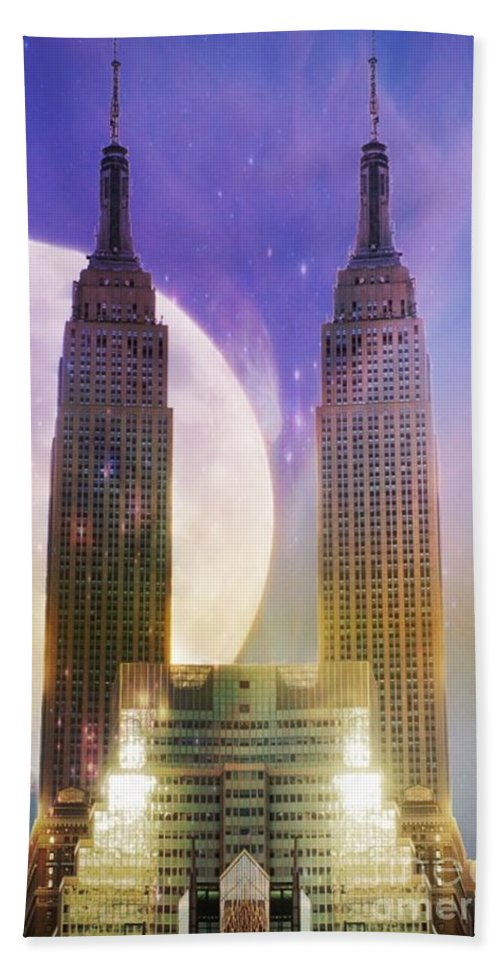 Empire Hand Towel featuring the photograph Empire by Lilliana Mendez