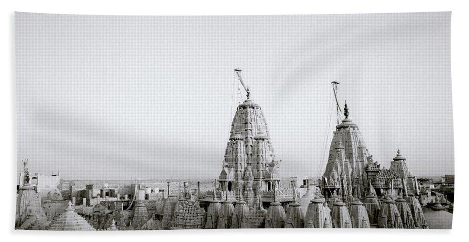 India Bath Sheet featuring the photograph Enchanting Jaisalmer by Shaun Higson