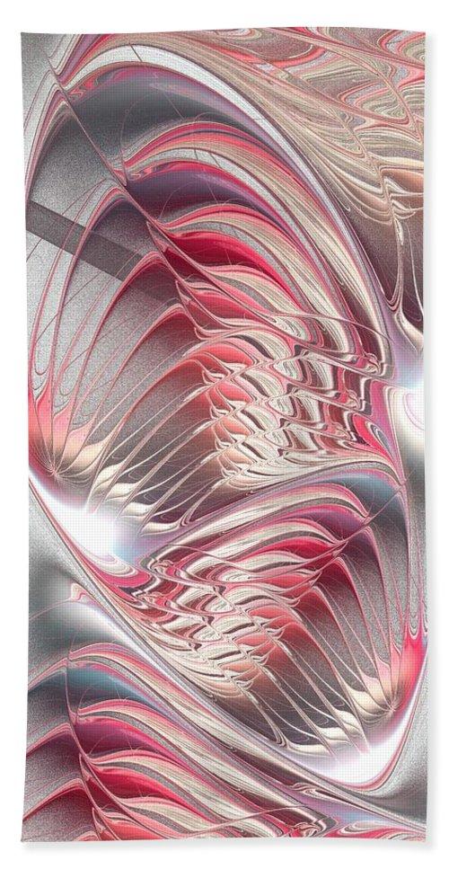 Enigma Bath Sheet featuring the digital art Enigma by Anastasiya Malakhova