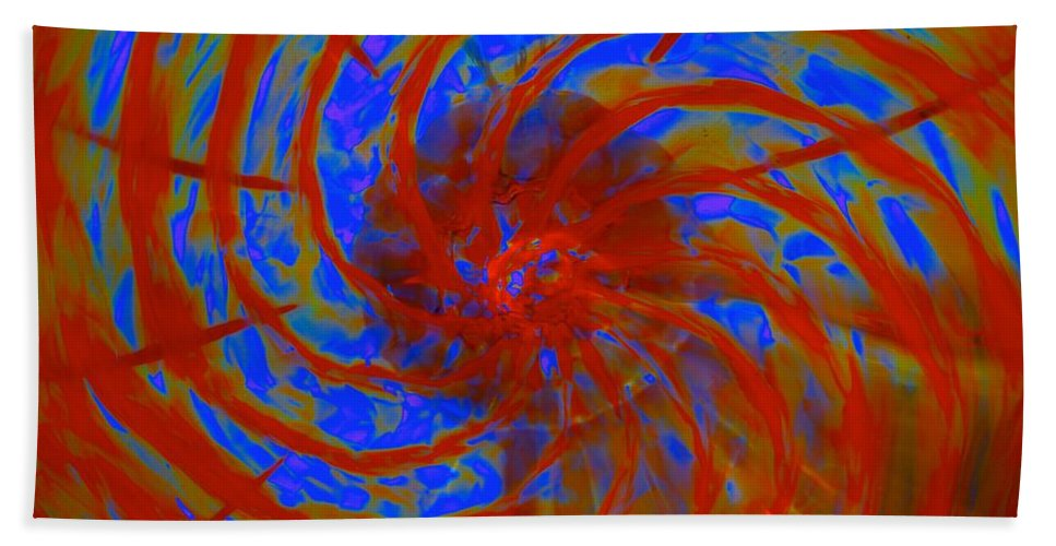 Magik Hand Towel featuring the photograph Epoch Journey by Tim G Ross