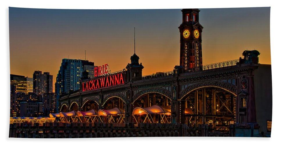 Erie Lackawanna Bath Sheet featuring the photograph Erie Lackawanna by Susan Candelario