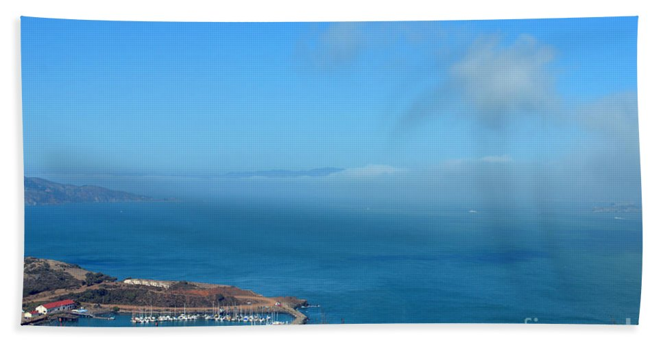 Escobedo Bay Hand Towel featuring the photograph Escobedo Bay -2 by Tommy Anderson