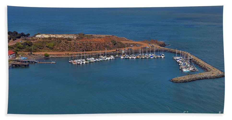 Escobedo Bay Hand Towel featuring the photograph Escobedo Bay by Tommy Anderson