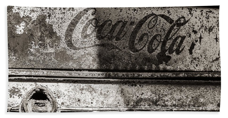 Coca Cola Bath Sheet featuring the photograph Even Fire Cant Touch It by Scott Campbell
