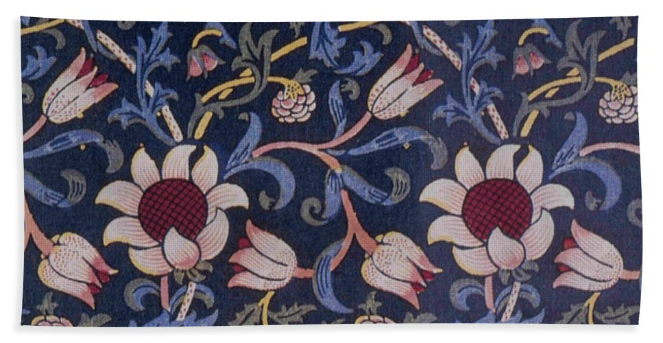William Bath Towel featuring the tapestry - textile Evenlode Design by Philip Ralley