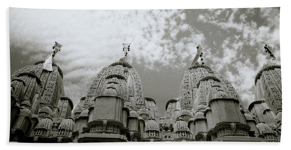 India Bath Sheet featuring the photograph Ethereal Rajasthan by Shaun Higson