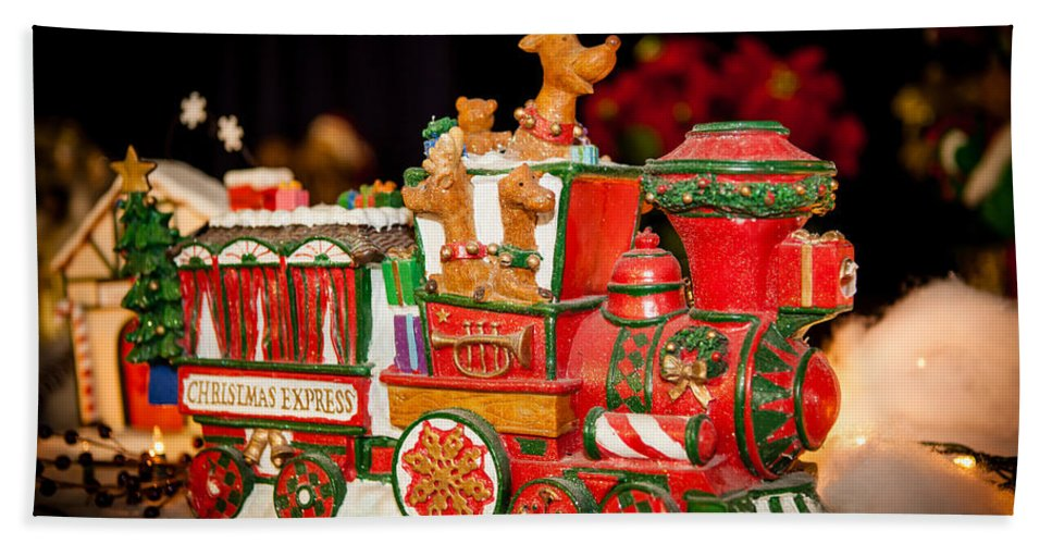 2012 Bath Sheet featuring the photograph Express Train by Melinda Ledsome