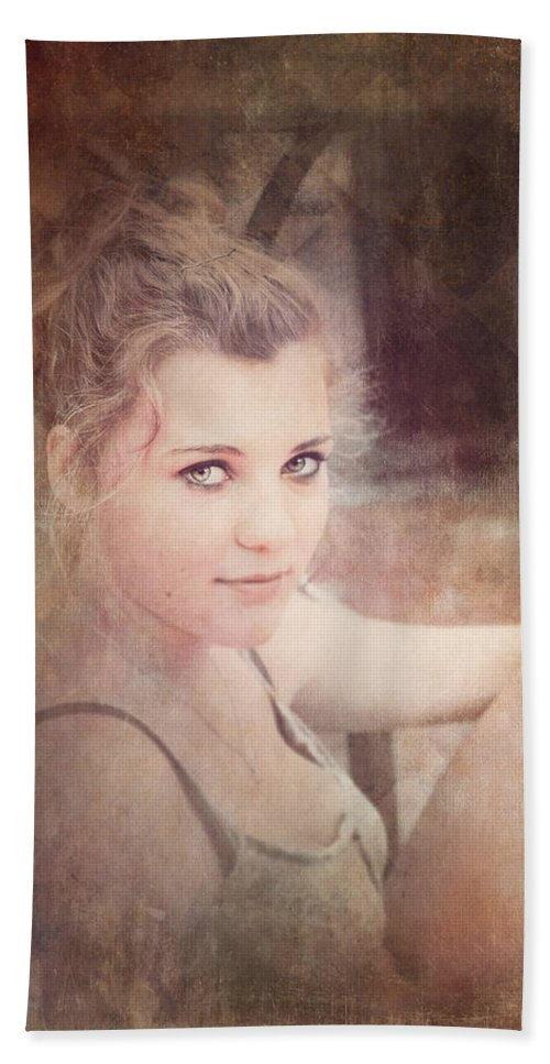 Loriental Bath Sheet featuring the photograph Eye Contact #01 by Loriental Photography