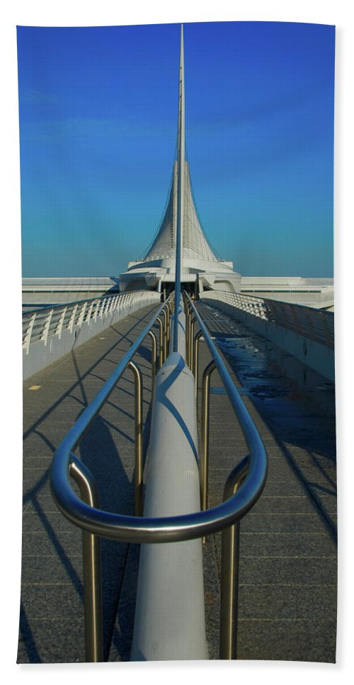 Calatrava Santiago Hand Towel featuring the photograph Eye Of The Beholder by Jonah Anderson