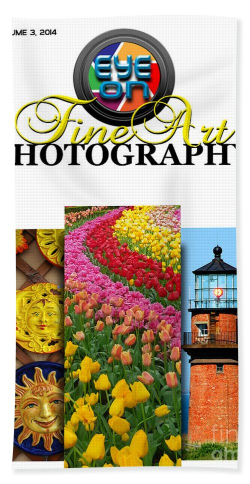 Photography Hand Towel featuring the photograph Eye On Fine Art Photography March Cover by Mike Nellums