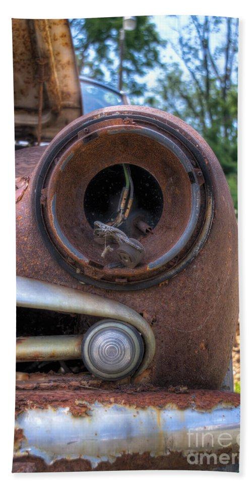 Car Bath Sheet featuring the photograph Eye Socket by Rick Kuperberg Sr