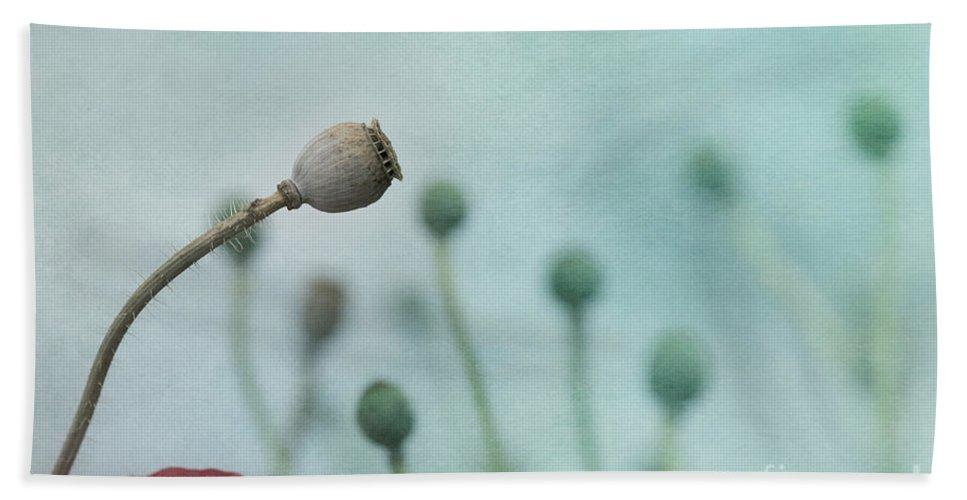 Pod Bath Sheet featuring the photograph faded summer III by Priska Wettstein
