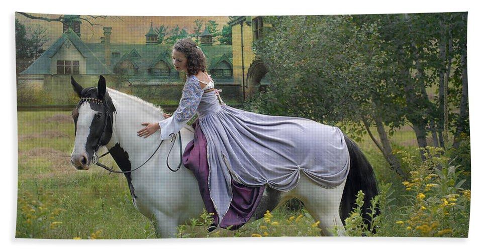 Horses Bath Sheet featuring the photograph Faerie Tales by Fran J Scott