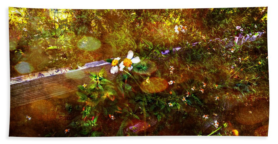 Garden Bath Sheet featuring the photograph Fairy Land by Chris Crowley
