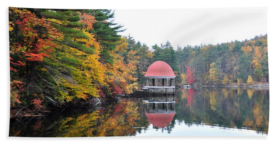 Coggshall Hand Towel featuring the photograph Coggshall Park, Fitchburg Ma by Staci Bigelow