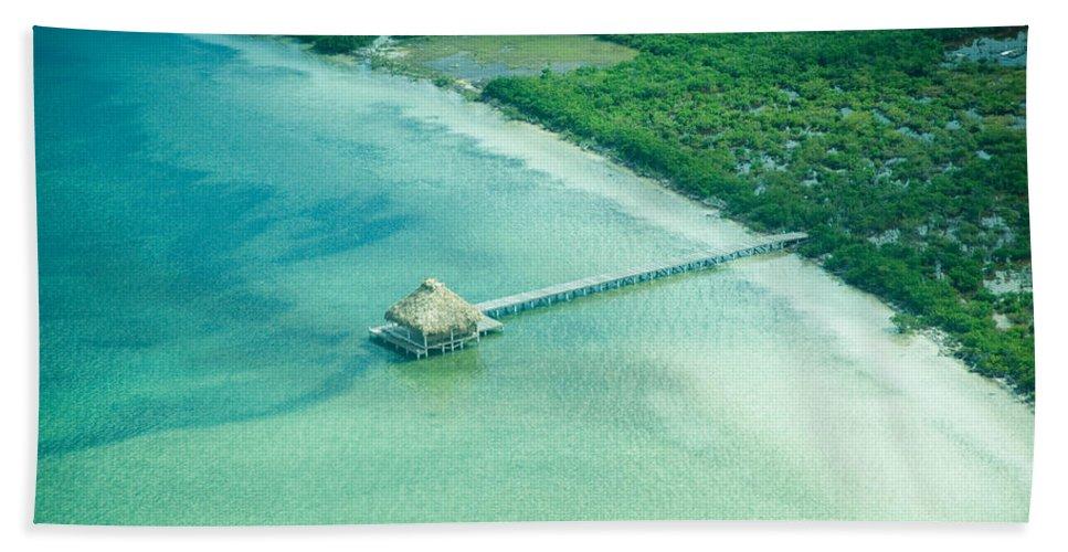 Belize Bath Sheet featuring the photograph Far Away by Zina Zinchik