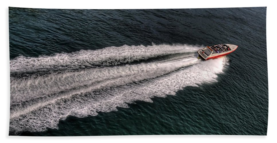 Pier Hand Towel featuring the photograph Fast And Furious by Svetlana Sewell