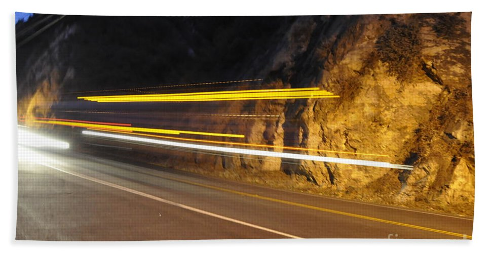 Fast Hand Towel featuring the photograph Fast Car by Gandz Photography