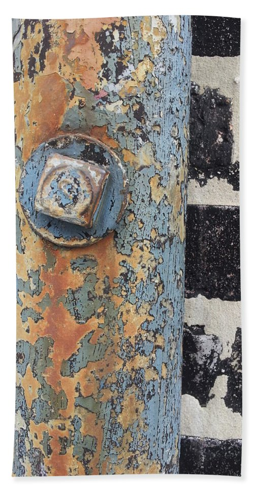 Street Art Hand Towel featuring the photograph Fav Find 12/19/13 by Zac AlleyWalker Lowing