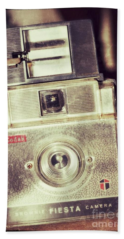 Camera Hand Towel featuring the photograph Fiesta by Traci Cottingham