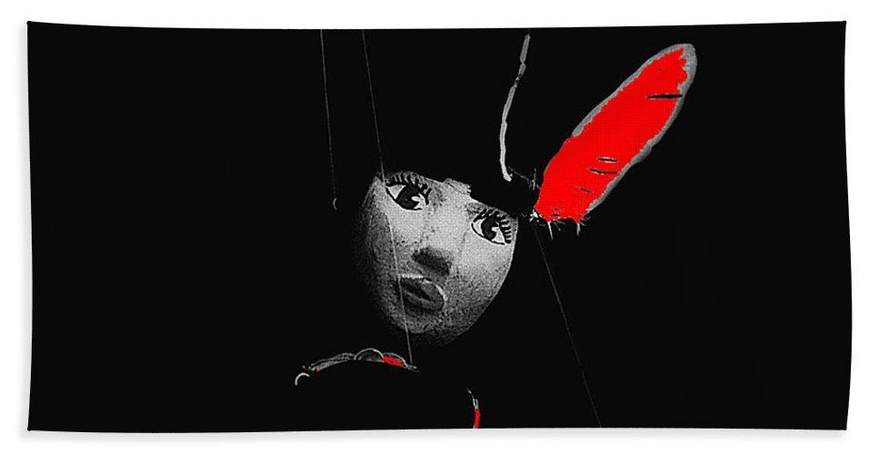 Film Homage Walt Disney's Animators Pinocchio 1940 Aberdeen South Dakota 1964-2008 Color Added Hand Towel featuring the photograph Film Homage Walt Disney's Animators Pinocchio 1940 Aberdeen South Dakota 1964-2008 by David Lee Guss