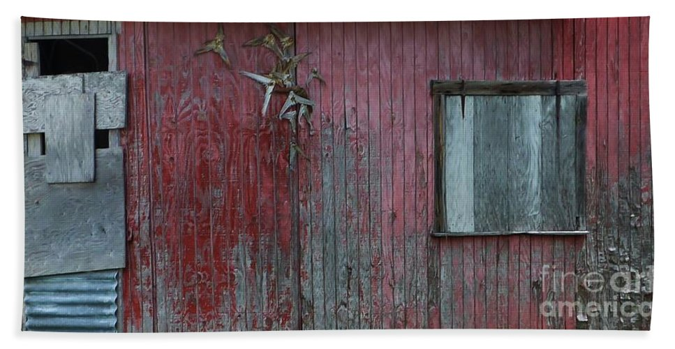 Color Bath Sheet featuring the photograph Fish Shack by Amar Sheow