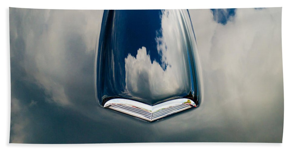 Car Hand Towel featuring the photograph Floating In The Sky by Mark Dodd