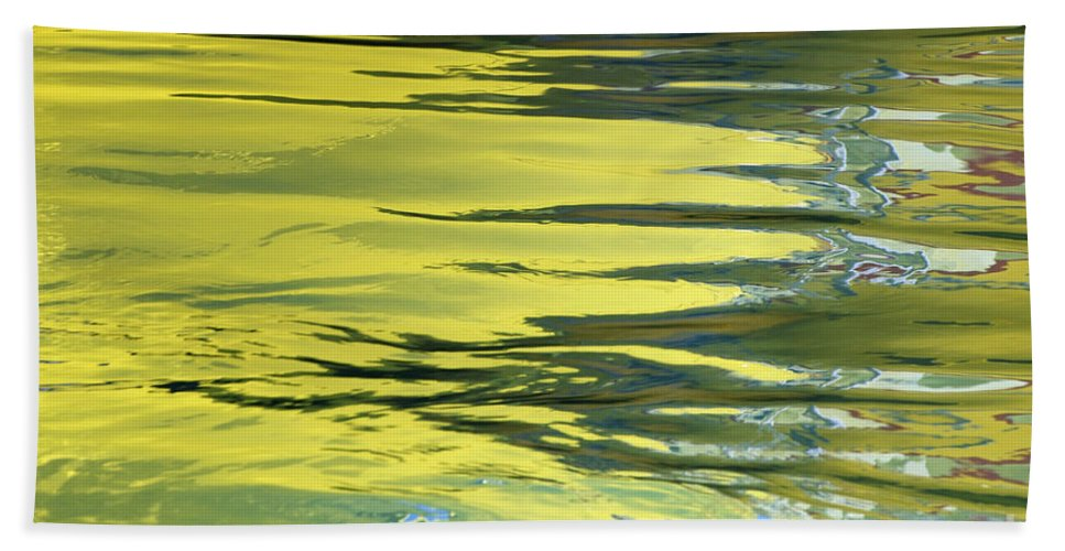 Floating Hand Towel featuring the photograph Floating On Blue 27 by Wendy Wilton