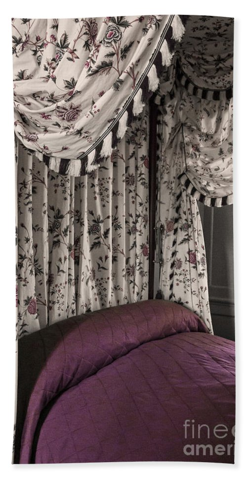 Bed Hand Towel featuring the photograph Floral Canopy by Margie Hurwich