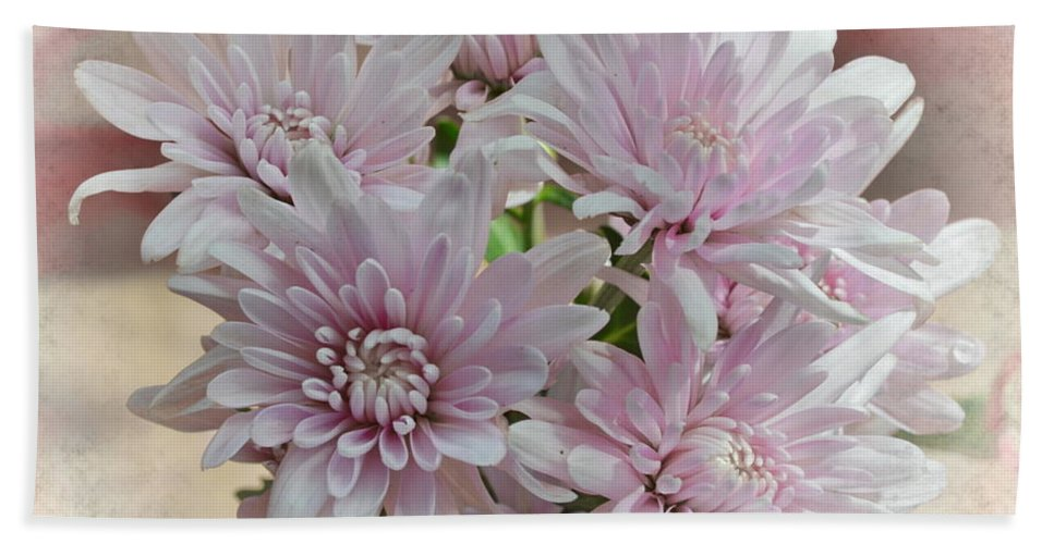 Michelle Meenawong Bath Sheet featuring the photograph Floral Dream by Michelle Meenawong