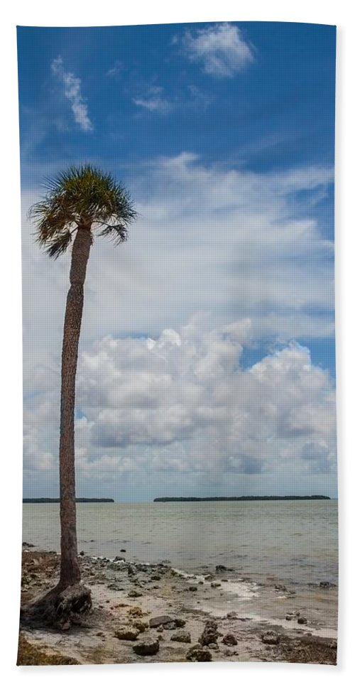 Atlantic Hand Towel featuring the photograph Florida Bay 6943 by Rudy Umans