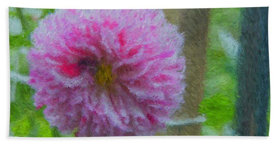 Flower Bath Sheet featuring the photograph Flower Power by Alice Gipson